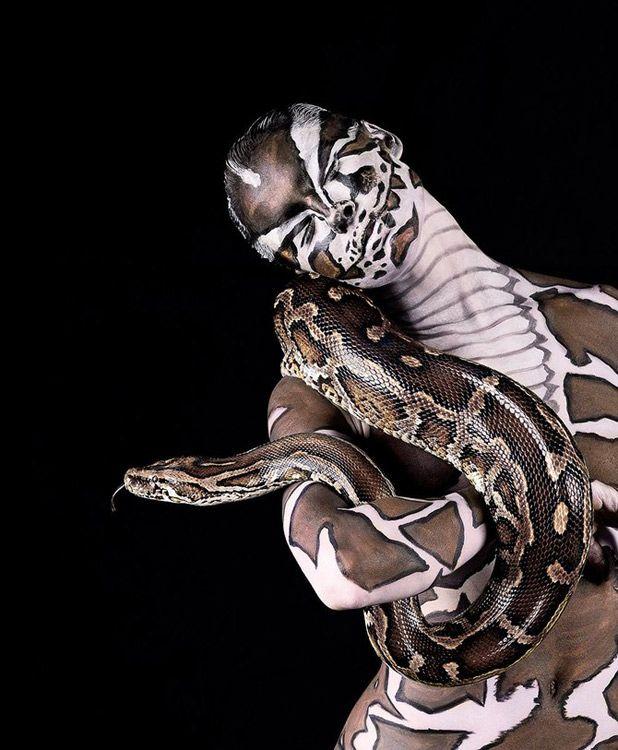 Wild Body Art by Lennette Newell repinned by www.BlickeDeeler.de
