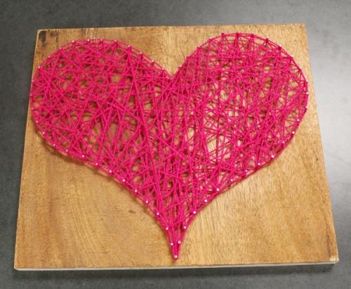 Simple & fun yarn art. #DIY