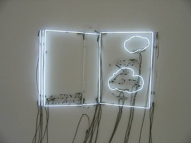 Philippe Parreno, Atlas of Clouds - Open Book Clouds
