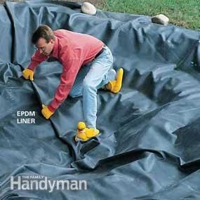Build a Backyard Pond and Waterfall - Step by Step | The Family Handyman