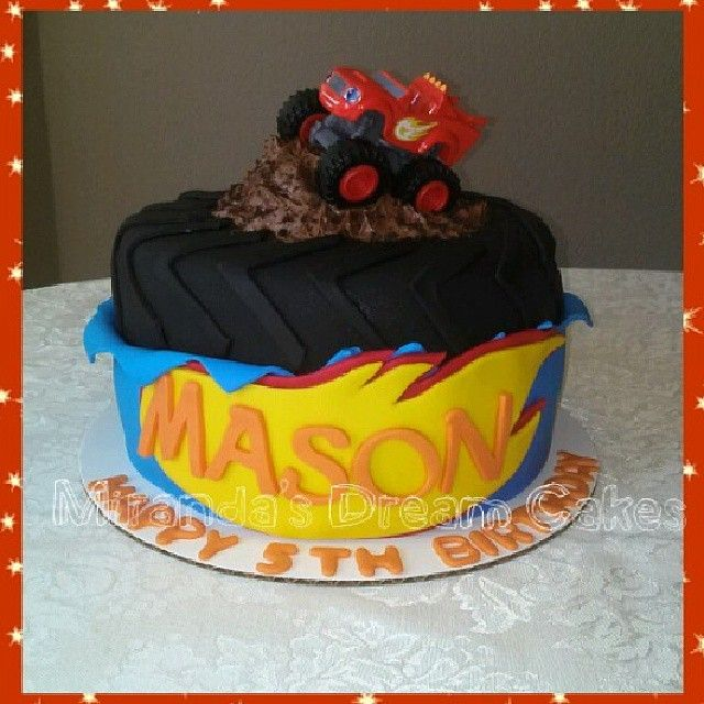 blaze and the monster machines birthday cake - Google Search