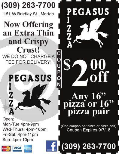 pegasus pizza morton coupon