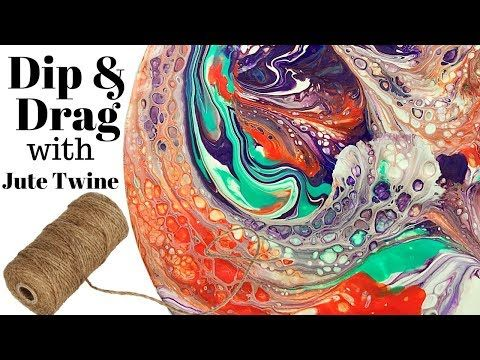 Simple Layered Paint Pour   Technique   How To Paint Pour   Tutorial   Jasvir Kambo   Video - YouTube