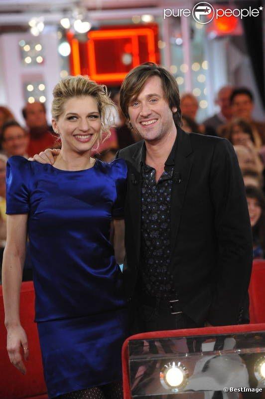 Amandine Bourgeois et Thomas Dutronc