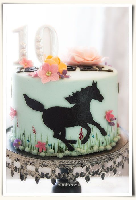 Horse cake - Birthday cake for my daughter. I've got to learn this for my granddaughter!