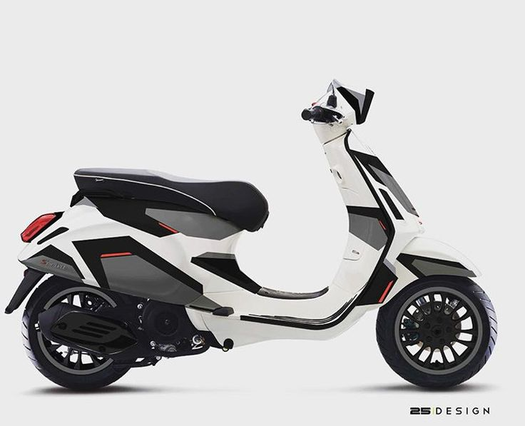 Jon olsson camo on vespa sprint vespa custom sprint stickers