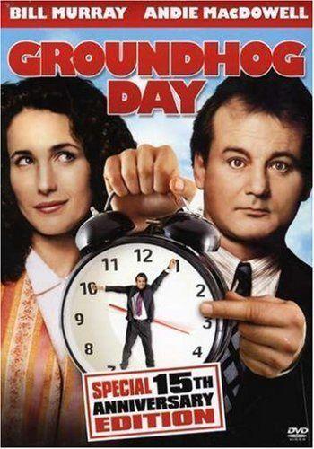Groundhog DayFunny Movie, Bill Murray, Groundhogday, 15Th Anniversaries, Billmurray, Favorite Movie, Watches, Favorite Film, Groundhog Day