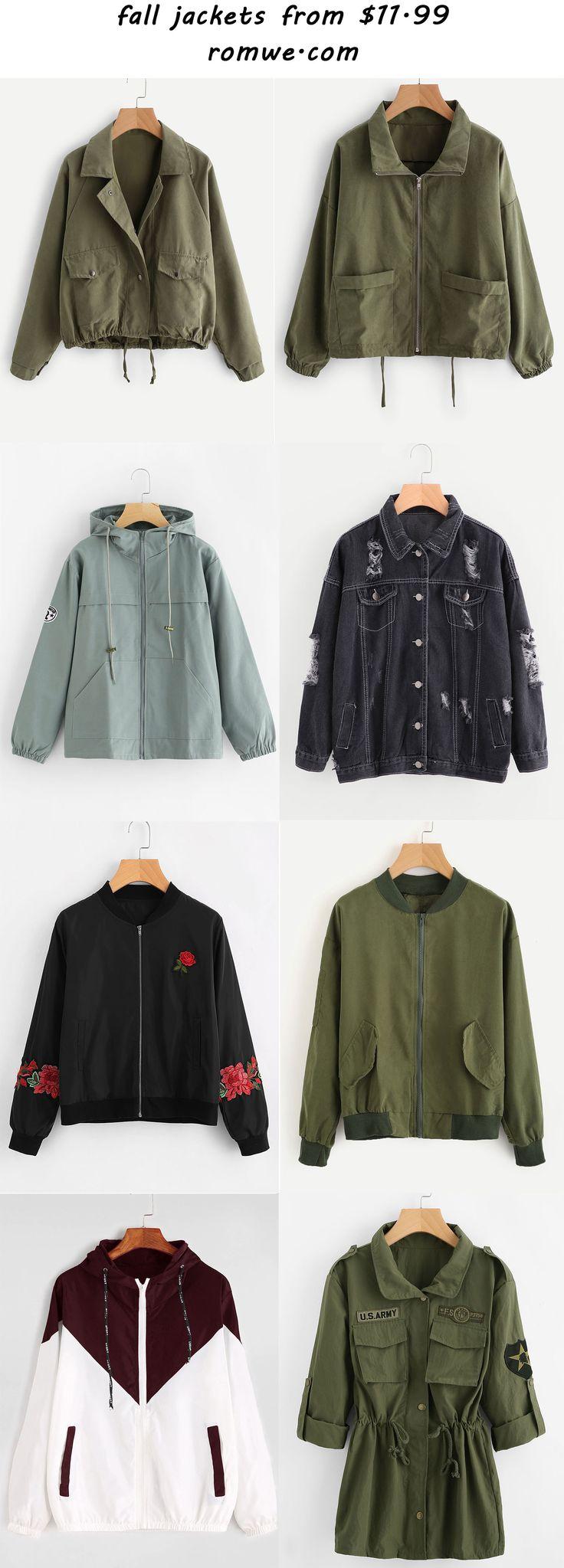fall jackets 2017 - romwe.com