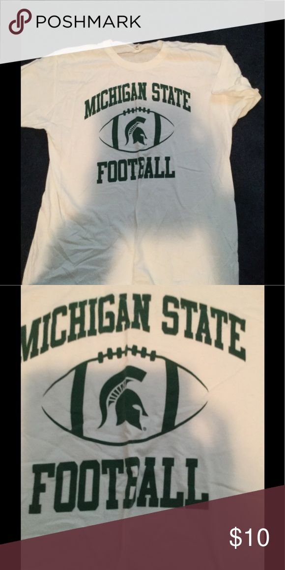 Michigan state football tshirt Michigan state football shirt Tops