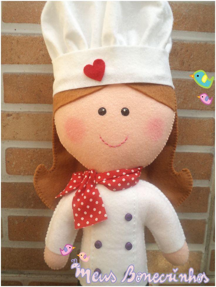 touca de chef de feltro - Pesquisa Google