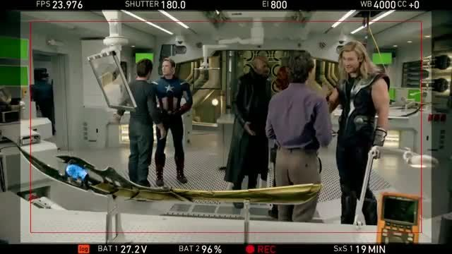 I FOUND IT! The Avengers gag reel. This was an AWESOME four minutes.