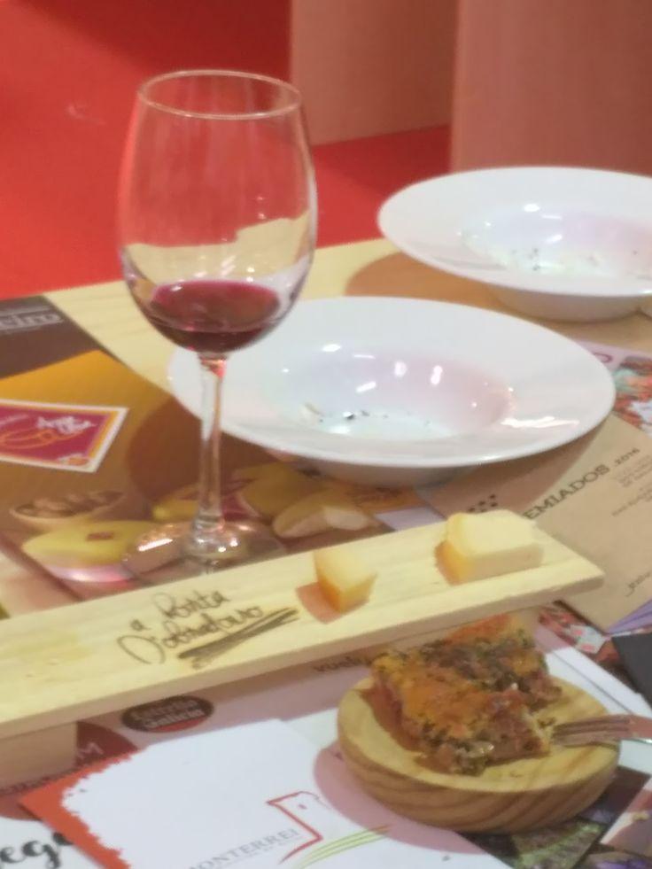 Presentación de productos de las Denominaciones de Origen de Galicia en el Fórum Gastronómico Coruña 2017. Evento realizado por la consellería de medio rural, con la elaboración de platos y postres por parte de Kike Piñeiro y Eloy Cancela de A horta do Obradoiro.