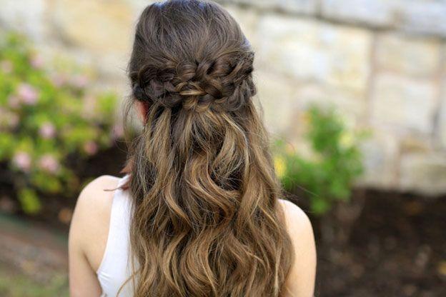 Прически на выпускной в садике на длинные волосы