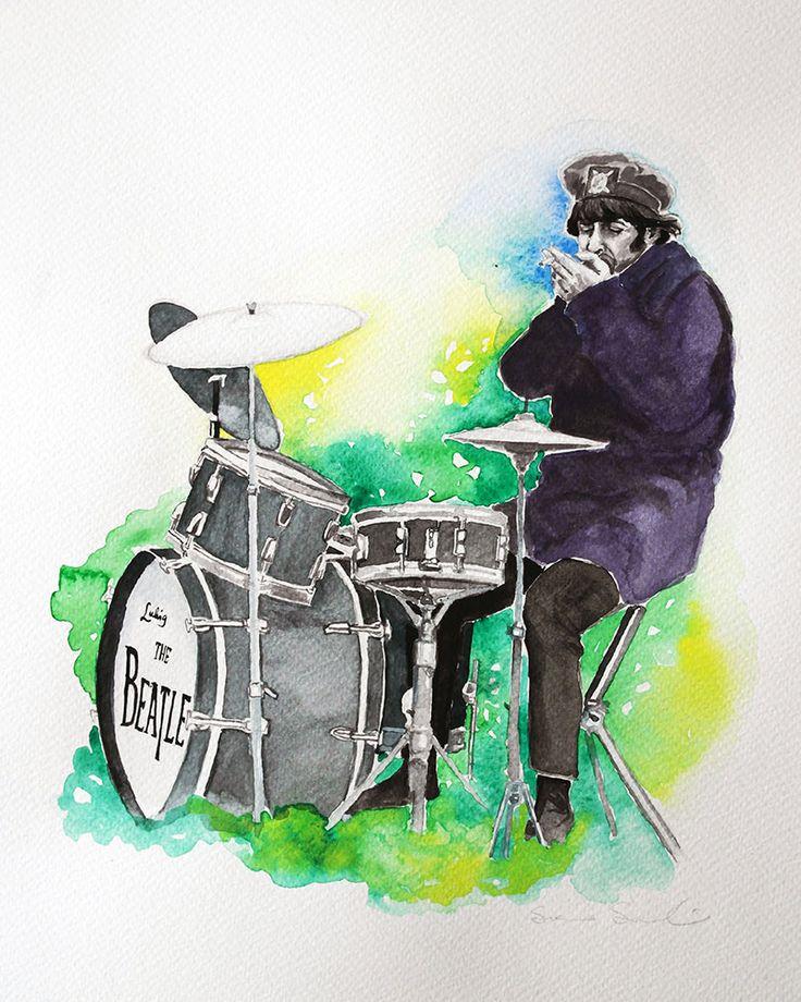 Susanna Savolainen gouache&watercolor