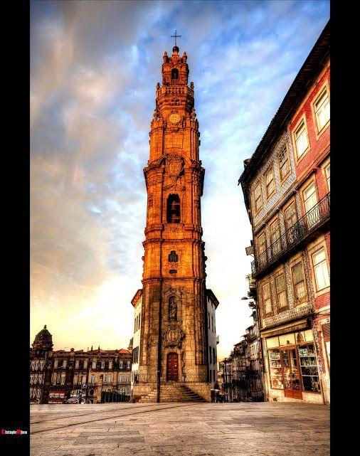 Clerigos tower, Porto , Portugal, Christophe Afonso - Google+, HDR World - Christophe Afonso Photography