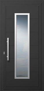 Πόρτες Πάνελ INOX 300. Aluminium Doors Inox 300.