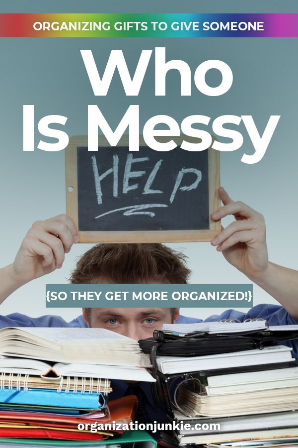 Organizing Gifts To Give Someone Who Is Messy So They Get More Organized Organization Gifts Organization Organizing Office Ideas