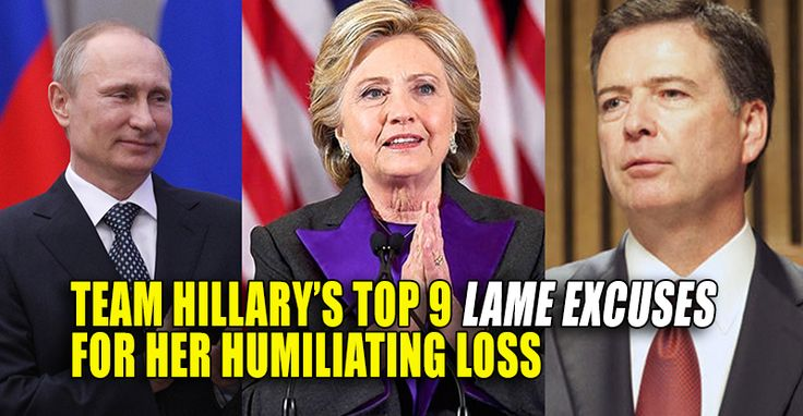 """(Breitbart News) A month after Hillary Clinton's devastating election loss to Donald Trump, progressives have placed blame for their defeat on everything from """"fake news"""" to racism to Russian hackers. Below is a roundup of the scapegoats progressives blame for Clinton's loss. 1. """"Fake News"""" Hillary Clinton used her first public speechsince her election loss to blame the """"epidemic"""" rise of fake news for her defeat. """"The epidemic of malicious fake news and false propaganda that flooded…"""