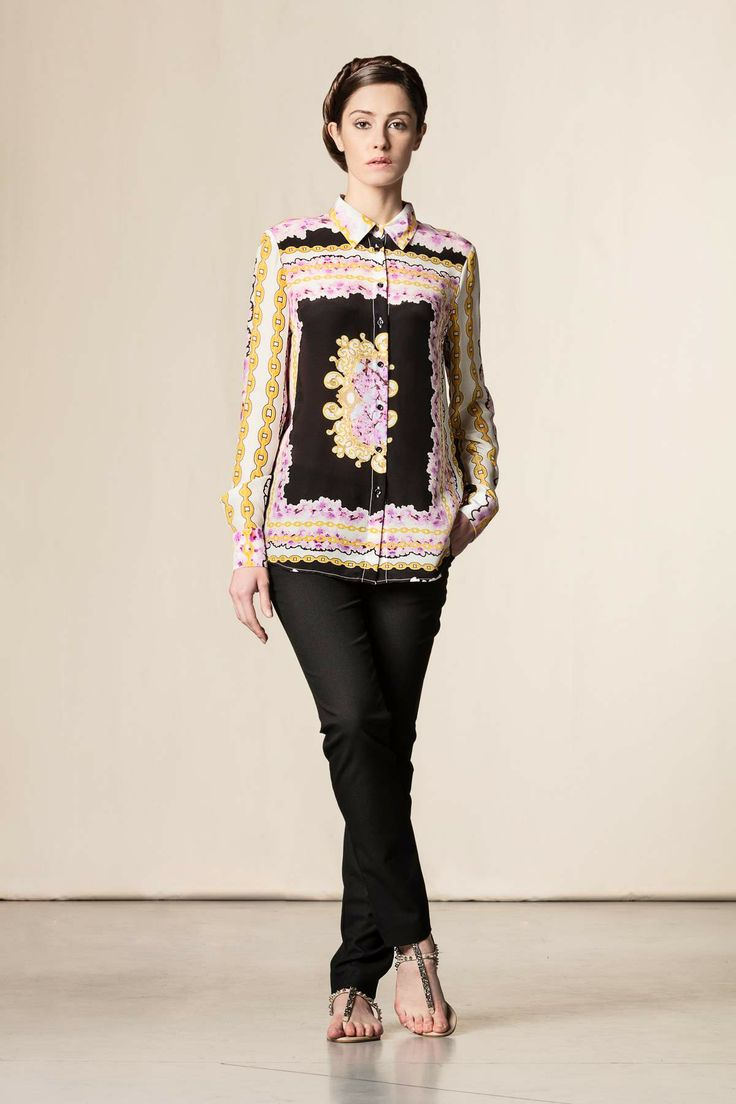 Camicia stampata - Nuovi arrivi #dressingfab #shoponline #shopping #fashion