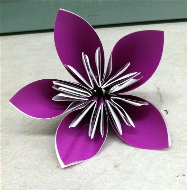 Infusing math into art.  How to create an origami flower while focusing on fractions.  An easy way to integrate common core into the art classroom.  An article/lesson plan by me through Brighthub.  Ashley Fournier