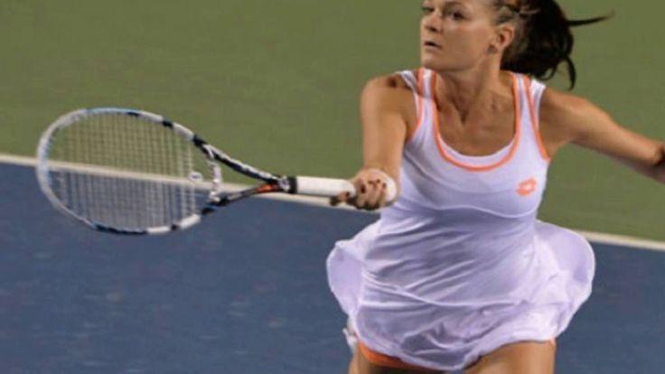 Agnieszka Radwanska surprised herself in Wimbledon