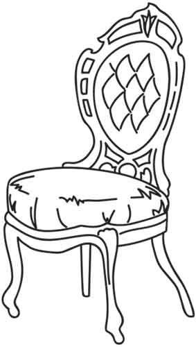 68 besten ausmalbilder m bel bilder auf pinterest leben for Stuhl design unterricht