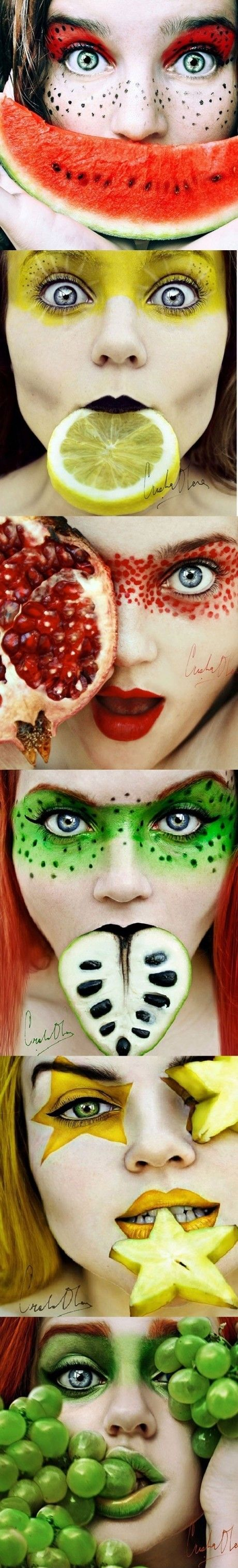 Fruity Make-up: could use for themed dances/club nights