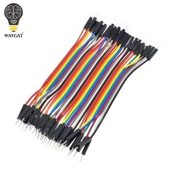 40pcs/lot 10cm 2.54mm 1pin Male to Male jumper wire Dupont cable  Price: 0.72 USD