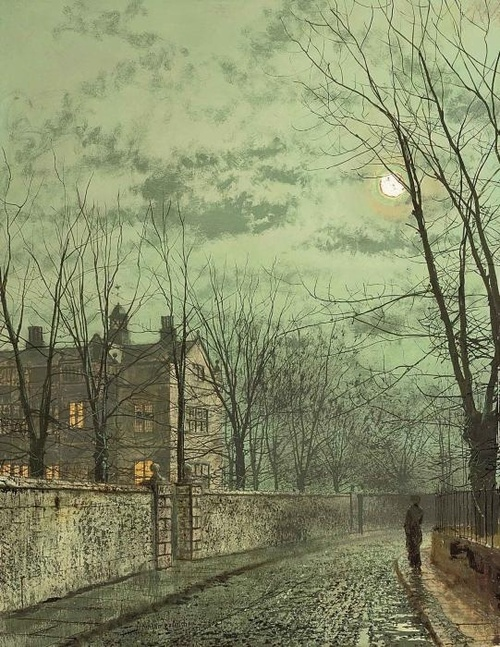 Under the Moonbeams: John Atkinson Grimshaw
