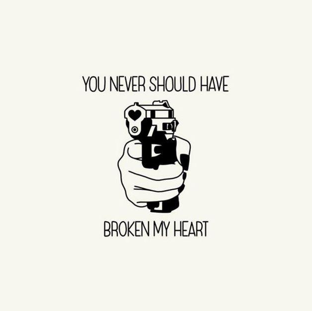 Você não devia ter partido meu coração