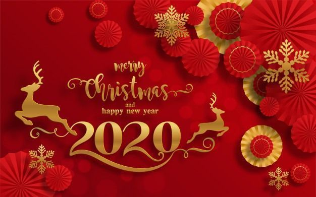 Happy New Year 2020 Images Happy New Year 2020 In 2020 Merry Christmas Greetings Merry Christmas And Happy New Year Merry Christmas Wishes
