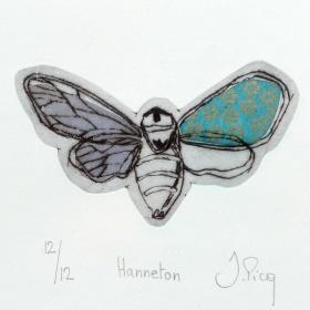 Hanneton, Jeanne Picq, galerie L'oeil ouvert