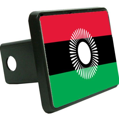 Malawi Flag Trailer Hitch Cover