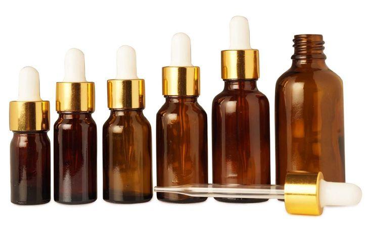 10 ml vide verre ambré de pipette bouteille réutilisable bouteilles huiles d'aromathérapie de sérum de pipettes beaucoup de gros de 50 bouteilles de boston round: Amazon.fr: Beauté et Parfum