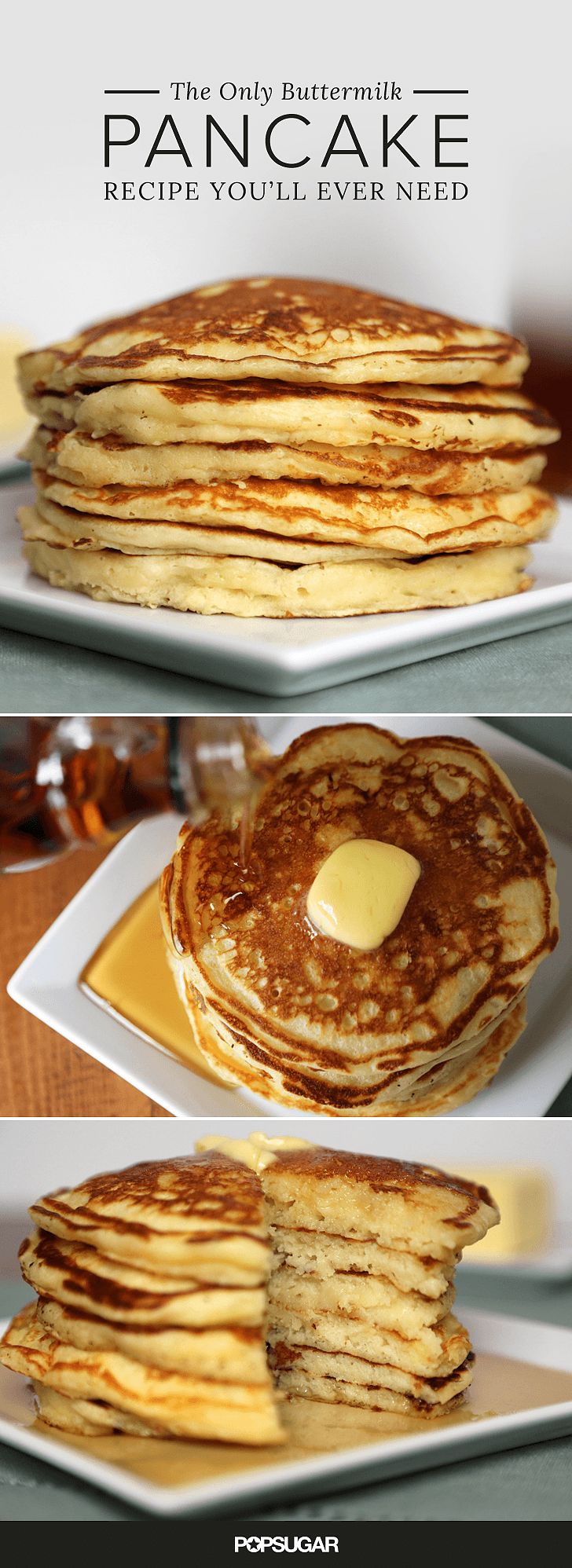 While many resort to pancake mix when making a special weekend breakfast, homemade pancakes are a must. Here's the little-known secret: the batter takes just as long to make as a boxed mix, and the result is infinitely better. Try the recipe and find out for yourself.