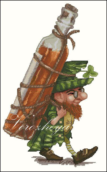 Gallery.ru / Ирландский виски - Платные.Сделаны по заказам. - Vorozheya