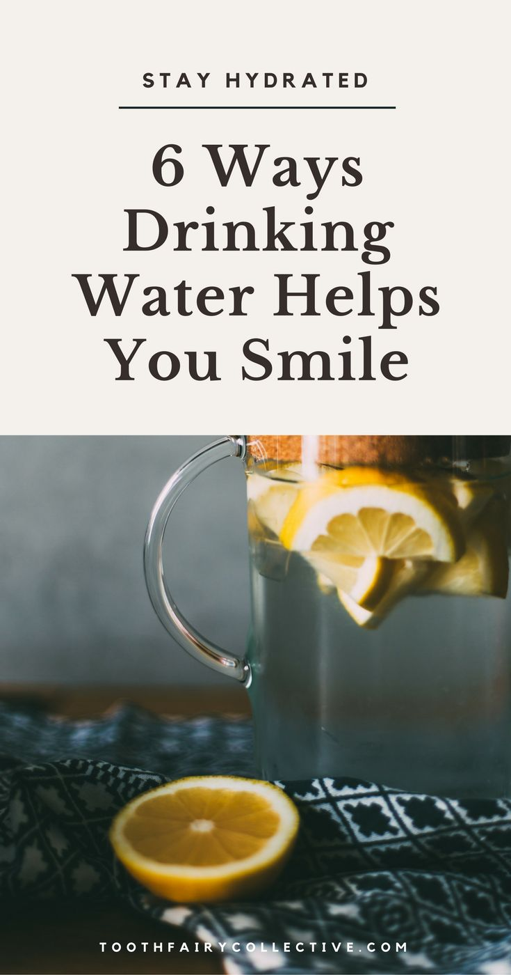 6 Ways Drinking Water Helps Keep Your Smile Strong and Healthy | Reasons To Stay Hydrated | Why Drinking Water Is Important | 6 Reasons To Drink More Water | The Importance of Staying Hydrated | Health & Wellness Tips | Lifestyle Advice | Tooth Fairy Co.