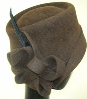 This blog is dedicated to the art of millinery