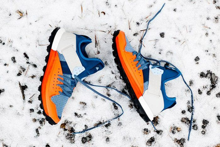 adidas Response Trail Boost (Core Blue/Energy Orange)