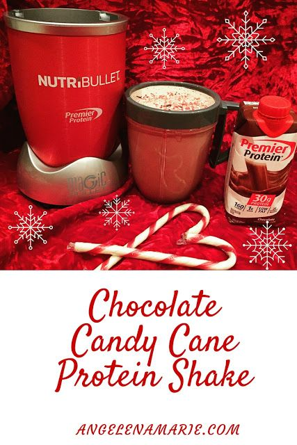 Love chocolate & peppermint try this Chocolate Candy Cane protein shake to keep cravings at bay & stay on track this holiday season!