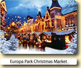 Europa Park Christmas Market  26th November – 08th January 2017 13th January - 15th January 2017 Opening Times Daily 11am-7pm Closed 24th/25th Dec