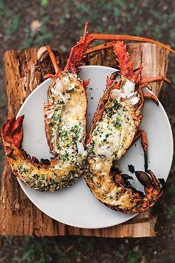 Lobster. Grilled.