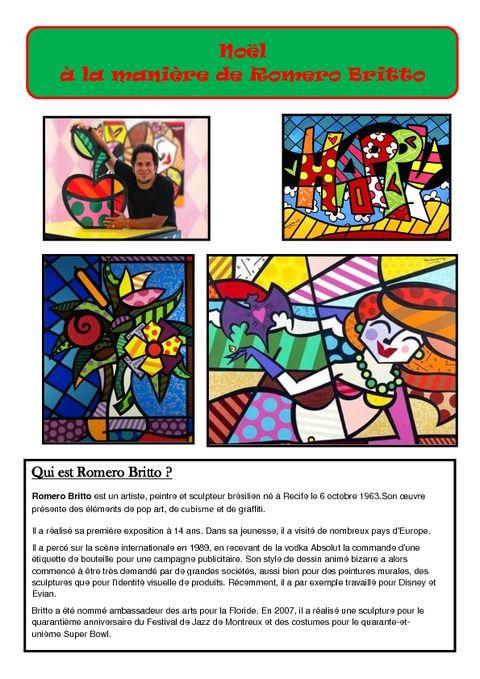 Connu Les 25 meilleures idées de la catégorie Romero britto sur  TH06