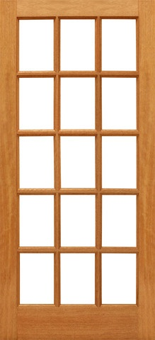 Prehung Slab Ovolo Sticking Insulated Tempered low-E Dual Double Glazed Mahogany Wood Full Lite 15 Lite Interior Single Door Kiln Dried WoodWe offer the largest selection of French Doors in various wood species and glass configurations. Arguably the best made French doors in the United States market today. Beautiful true divided French door FSC Certified Brazilian MahoganyAvailable in Knotty Alder, Oak & RusticEngineered stile and rail constructionAvailable in a wide variety of sizesWood has…