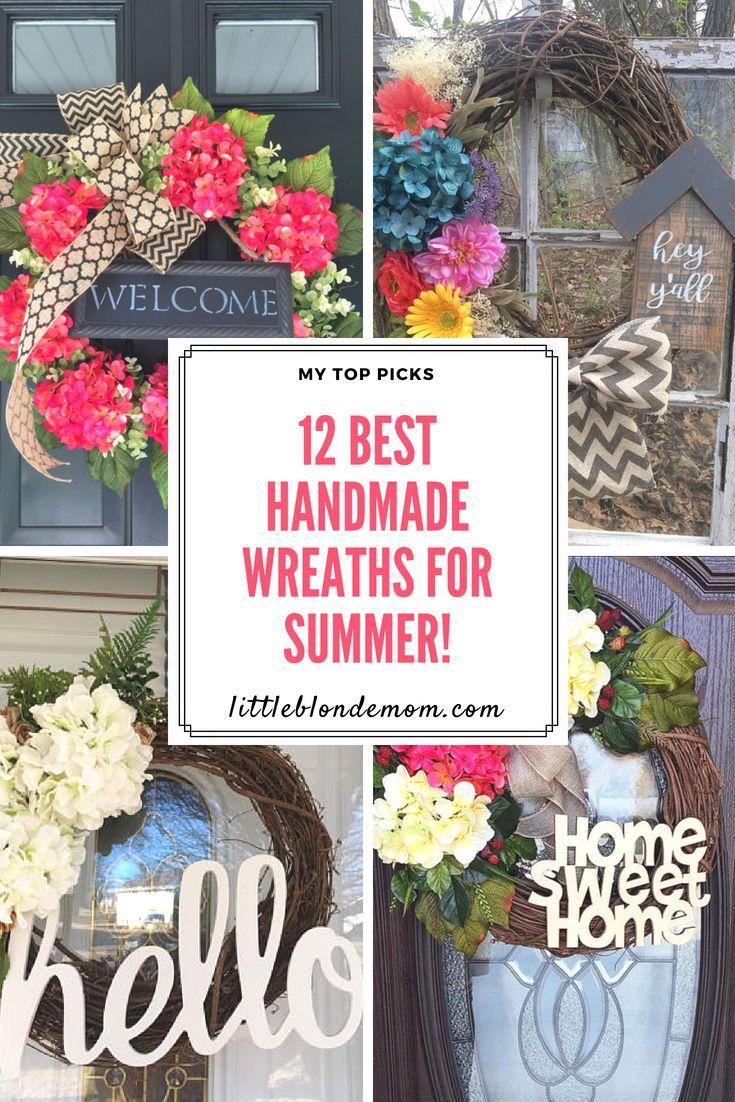 Top picks amazingly gorgeous handmade wreaths for summertime