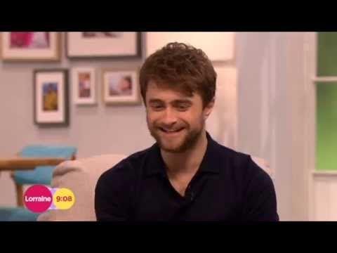 Daniel Radcliffe Horns Lorraine 2014