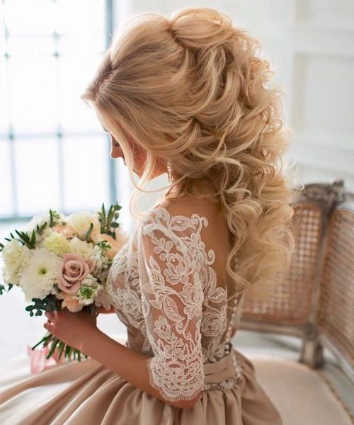 hair styles for mother of the groom best 25 curly wedding hairstyles ideas on 1557 | 10651170675af855e0d8a9e77a1557cf weddingideas the dress