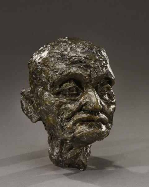 Camille Claudel (1864-1943) - Tête de vieil homme, étude pour L'âge mur, 1894 -