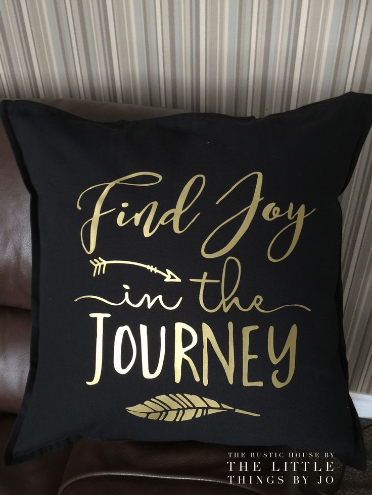 Quote pillows are just the right touch of personality to any space. Measures 20 x20 with a zipper and includes the pillow insert.  Tip: Pillows machine wash, warm. Do not bleach. Do not tumbl…