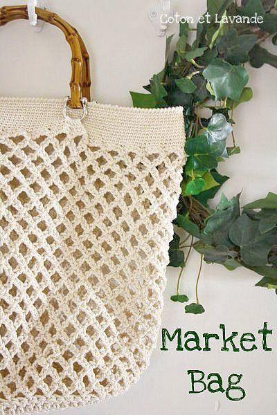 Market Bag Crochet tutorial